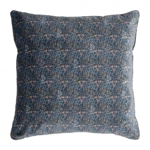 Kissenhülle FINE, Größe 45x45 cm, mit kleinteiligem Ornament-Muster, 100% Polyester, verschiedene Fa