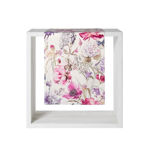 Tischläufer Flower, Größe 50 x160 cm
