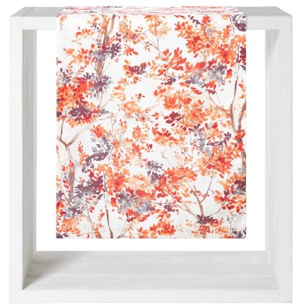 Tischläufer Clermont, Größe 50x160 cm, Farbe terra