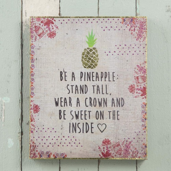 Wandbild Pineapple