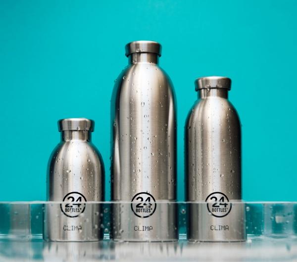 Thermosflasche Clima aus Edelstahl 0,85 Liter, verschiedene Muster und Farben