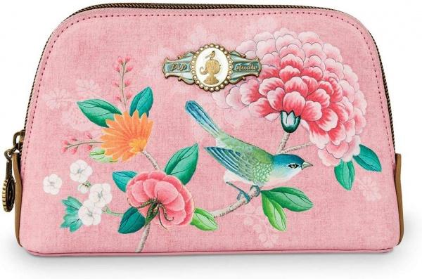 Cosmetic Bag Floral Pink, verschiedene Größen