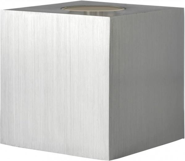 CUBIC Tischleuchte, Gestell Würfel in verschiedenen Farben, Für Fassung E27, ohne Leuchtmittel