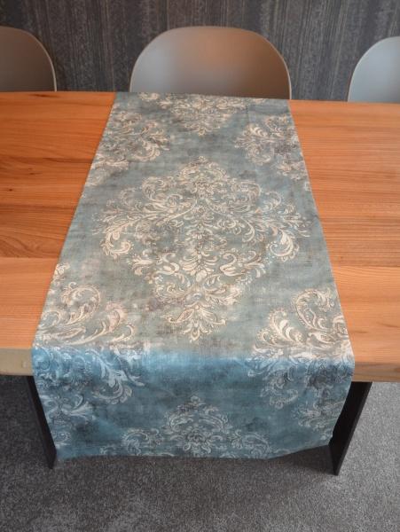 Tischwäsche Garonne, edler Alloverdruck mit Ornament