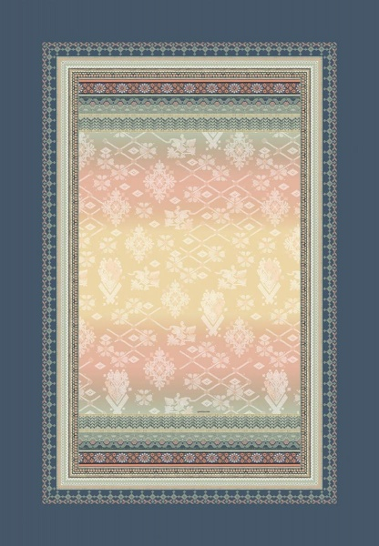 kuschelweiches Plaid Muster Olbia, Größe 135x190 cm, verschiedene Farben