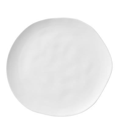 Porzellanteller neutral weiß