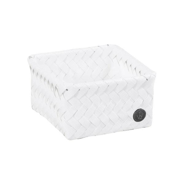 Basket Fit Tiny, Aufbewahrungskorb quadratisch klein, Größe 12x12x7 cm, verschiedene Farben