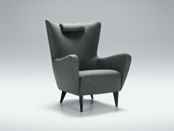 """Sessel """"Elsa"""", Ohrensessel - erhältlich in vielen verschiedenen Stoffen und Farben"""
