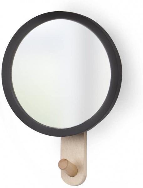 HUB kleiner Spiegel mit Wandhaken, verschiedene Farben