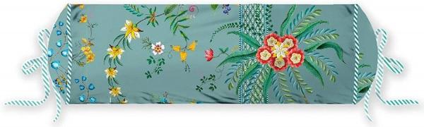 Nackenrolle gefüllt, Muster Petites Fleurs, Größe 22 x 70 cm, verschiedene Farben
