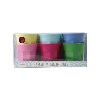 Becherset small, 6-teilig in verschiedenen Farben