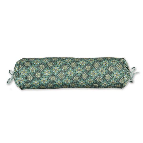 Nackenrolle gefüllt Muster Poppy Stitch, Größe 22x70 cm, verschiedene Farben